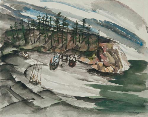 Boats_on_the_Beach_painting