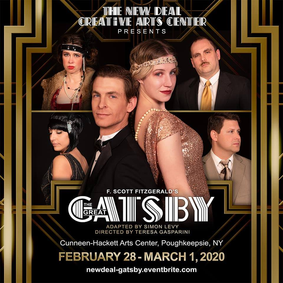 Image result for the great gatsby new deal creative arts hyde park ny